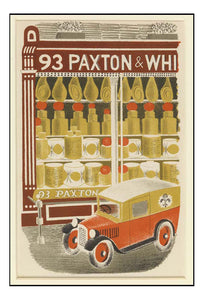 Paxton & Whitfield - Cheese Shop 1938 by Eric Ravilious - A4 Poster