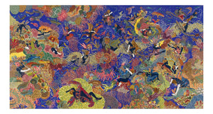 "Raqib Shaw - Garden of Earthly Delights X, 16x12"" (A3) Poster Print"
