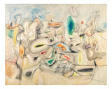Good Afternoon Mrs Lincoln by Arshile Gorky,16x12(A3) Poster