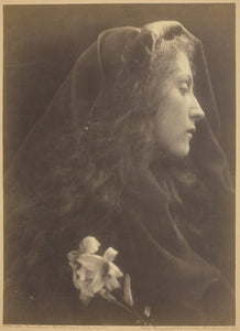 "The Angel at the Sepulchre: Julia Margaret Cameron,16x12""(A3) Poster"