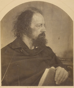 "The Dirty Monk, Alfred Tennyson: Julia Margaret Cameron,16x12""(A3) Poster"