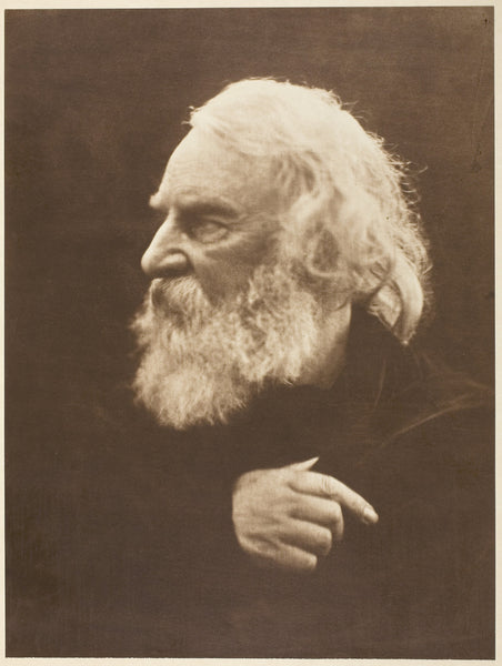 "Henry Wadsworth Longfellow: Julia Margaret Cameron,16x12""(A3) Poster"