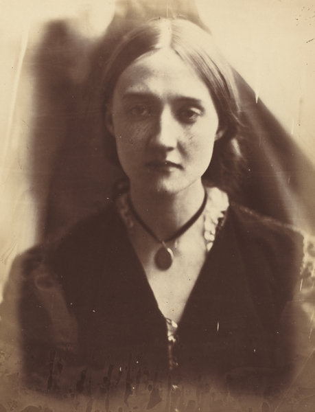 "Mary Fisher by Julia Margaret Cameron (British, 1815 - 1879), 16X12""(A3)Poster Print"