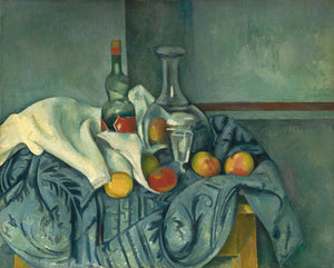 "The Peppermint Bottle by Paul Cézanne (French, 1839 - 1906), 16X12""(A3)Poster Print"