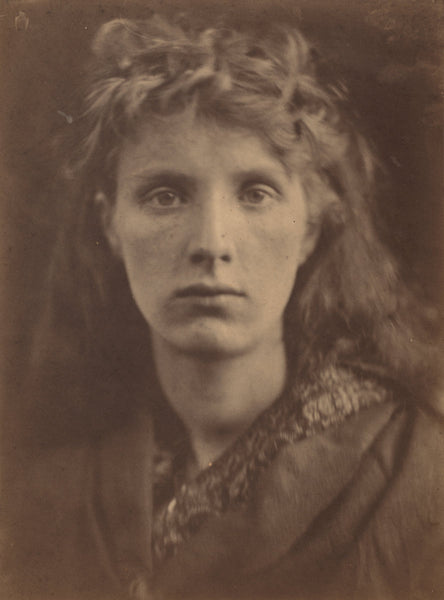 "The Mountain Nymph, Sweet Liberty by Julia Margaret Cameron (British, 1815 - 1879), 16X12""(A3)Poster Print"