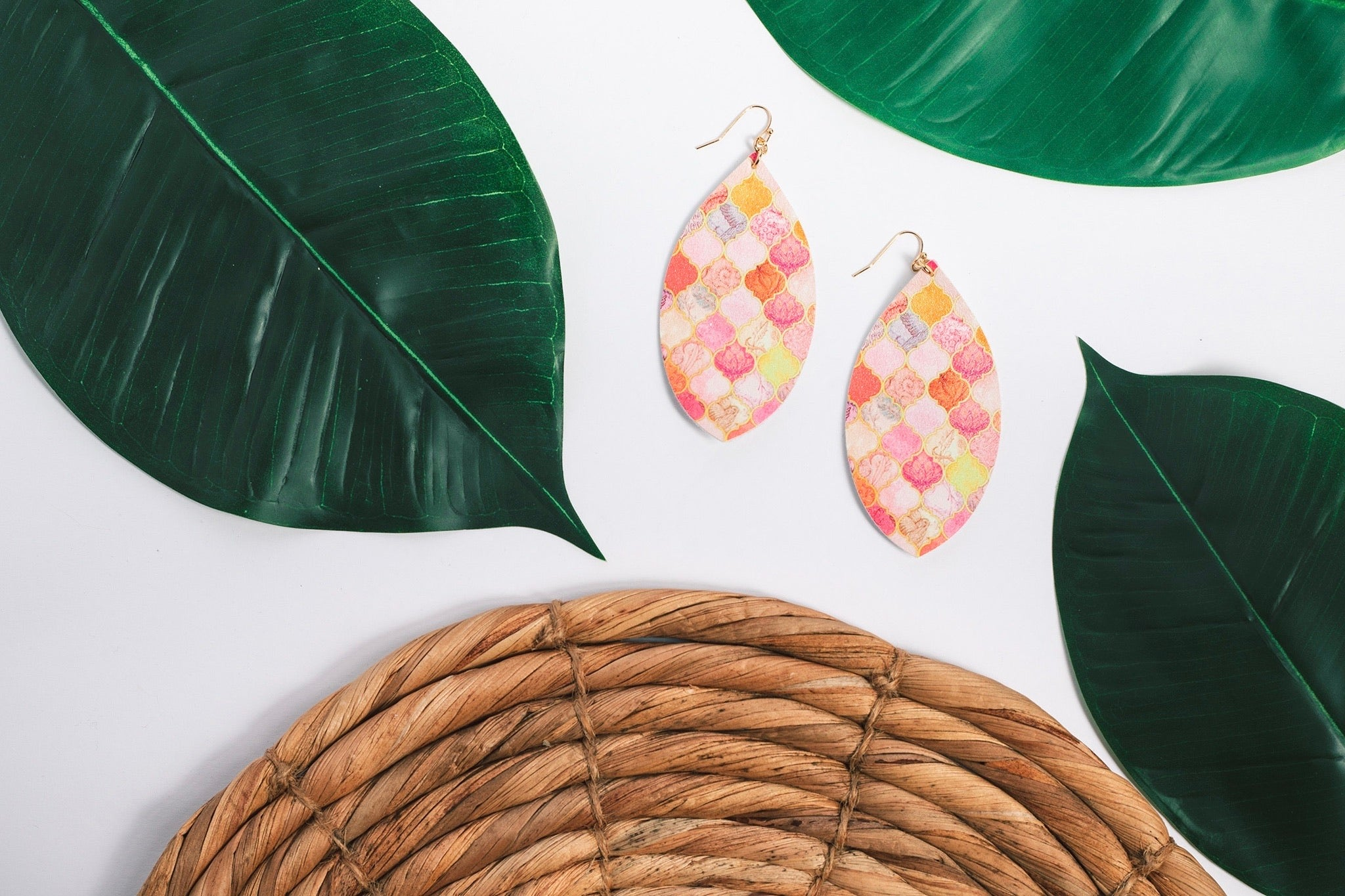 Printed Pattern Earring