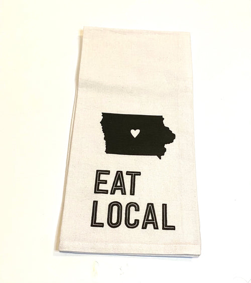 Iowa Tea Towel