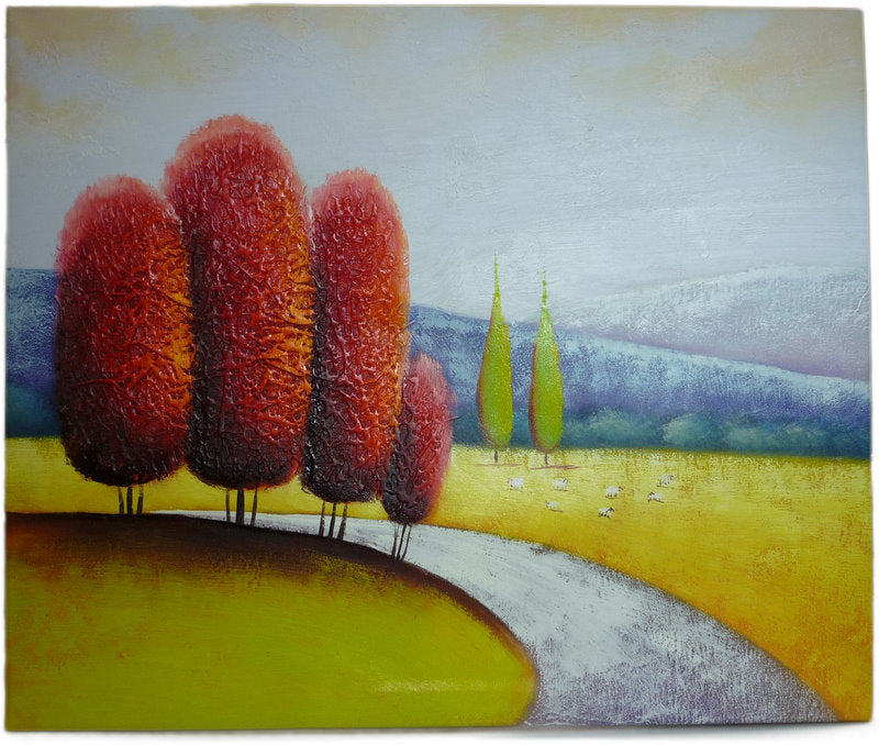 Trees Abstract - 50cm x 60cm