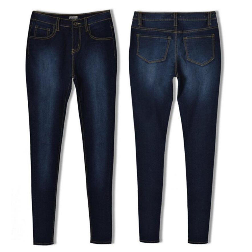 Women Pencil Stretch  Skinny Jeans - dealsfortut