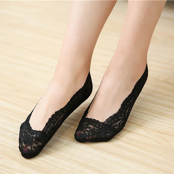 women socks 2017 Fashion Girls Lace - dealsfortut