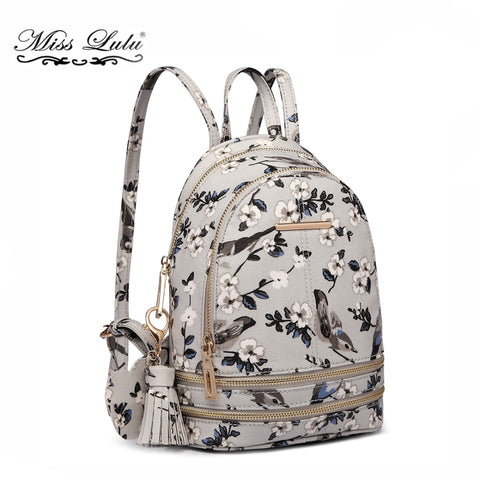 Women Backpack Bird Flower - dealsfortut
