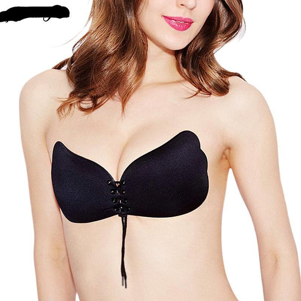 Strapless Push Up Invisible Bra - dealsfortut
