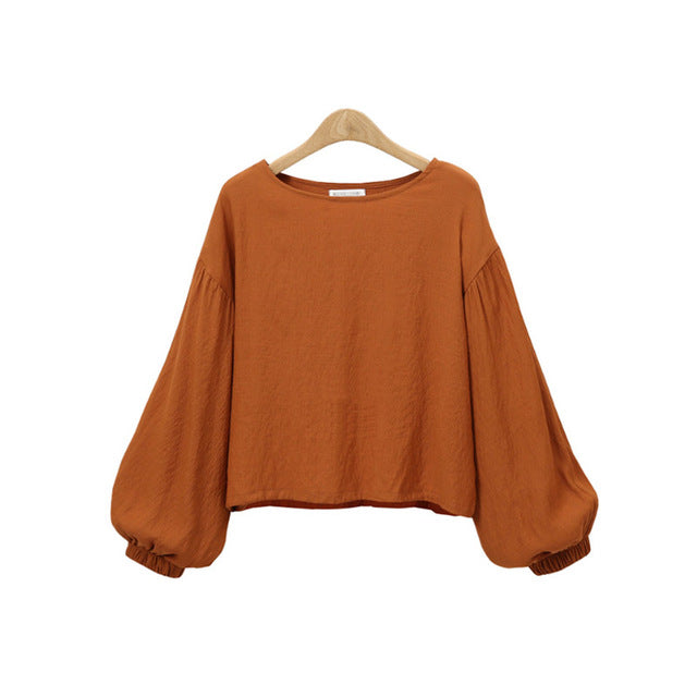 Women Long Sleeve Blouse - dealsfortut