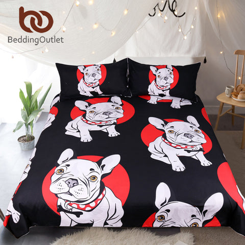 BeddingOutlet Bulldog Bedding Set - dealsfortut