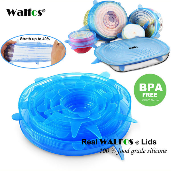 universal lid Silicone food wrap