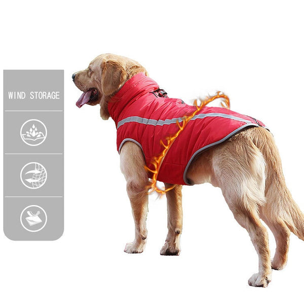 Waterproof Dog Clothes for Large Dogs