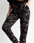 jogger pants women running cuff drawstring lululemon adidas z supply comfy workout yoga retro track camo lounge cheap