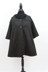 quilted womens button top tunic coat long flattering black green sweater blue jacket oversize slenderizing plus size chanel luxury nordstrom