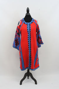 womens sweater tribal pocket colorful coat dress bebe zappos free people oversize aztec cardigan rosannes target nordstrom vintage bell sleeve southwest sante fe red blue wool pattern