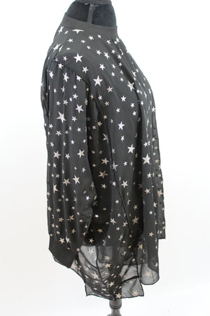 Lucky Star Oversize Tunic Blue