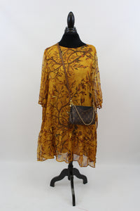 She Rocks In The Tree Top All Day Long Tunic In Golden