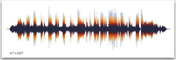 Favourite Song Sound Wave Print Spectrum