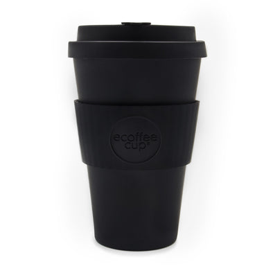 Ecoffee Organic Bamboo Coffee Cup 14 oz - Black
