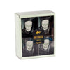 Anatomical Set of 4 Mini Glasses