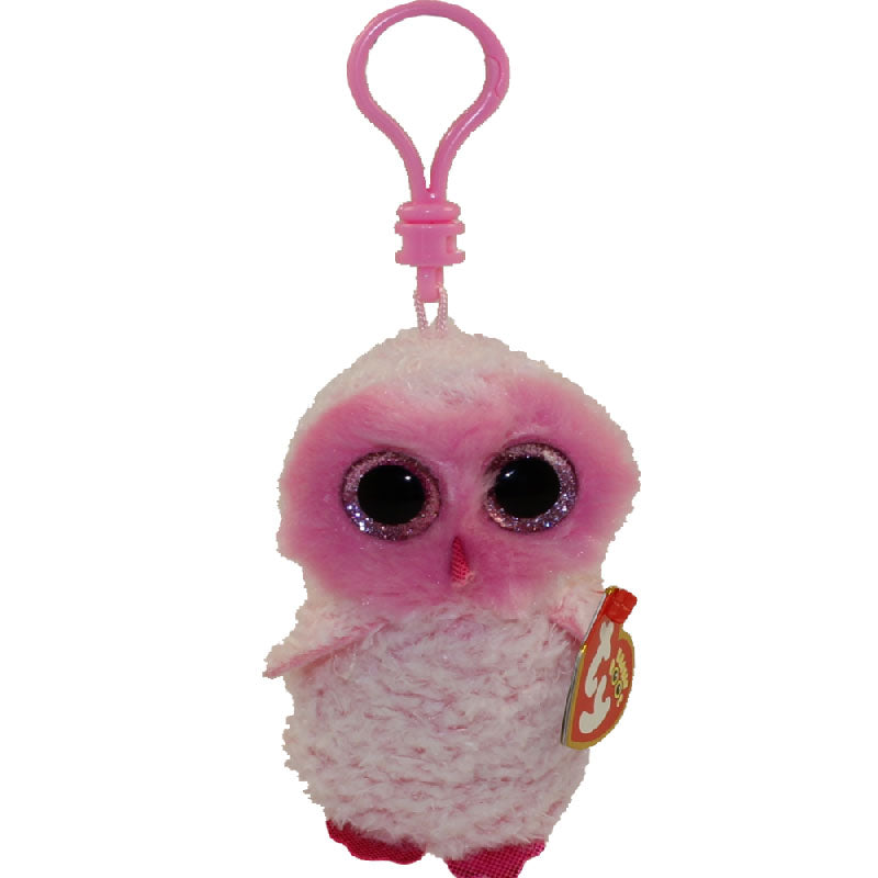 418cd4e700d Ty Beanie Boo s™ TWIGGY the Pink Owl Clip – Dandelion Boutique Fashion