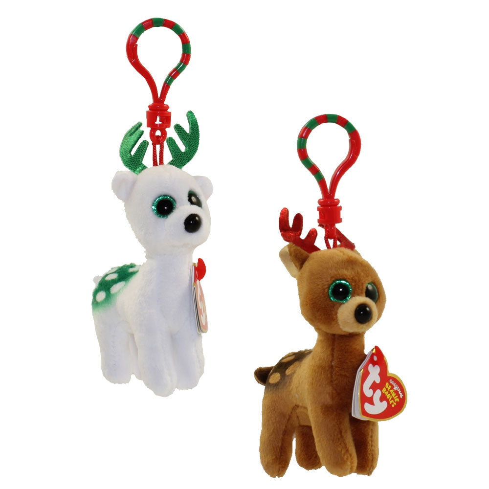 0dd9068a906 Ty Beanie Boo s™ Peppermint the Reindeer Clip – Dandelion Boutique ...