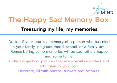 Happy Sad Memory Box