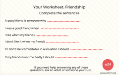 Free Children Worksheet
