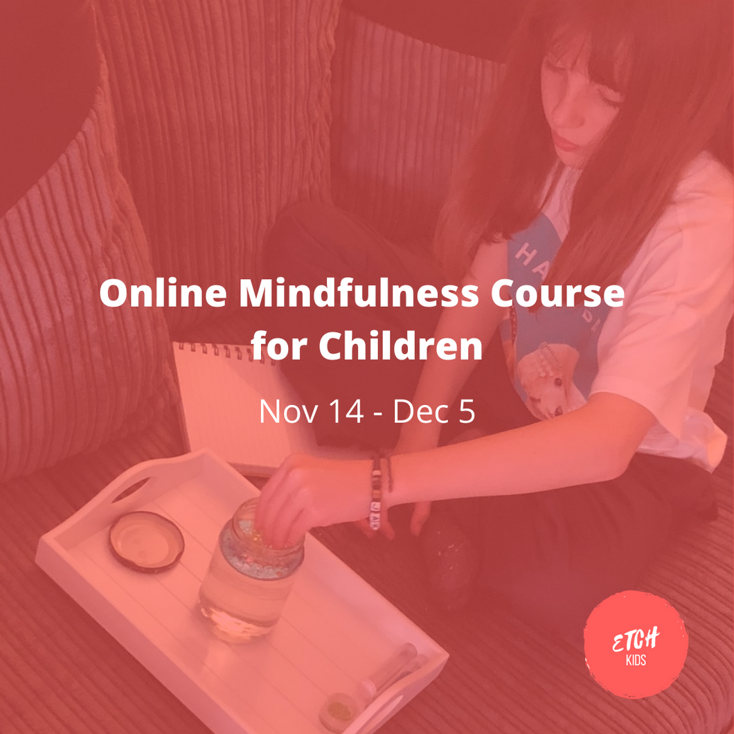 Online Mindfulness Course for Children [Nov 2020]