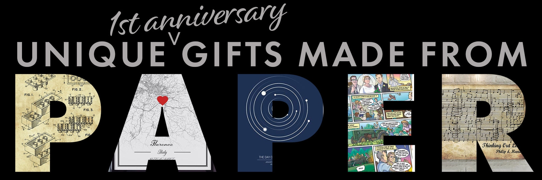 Unique First Anniversary Gift Ideas
