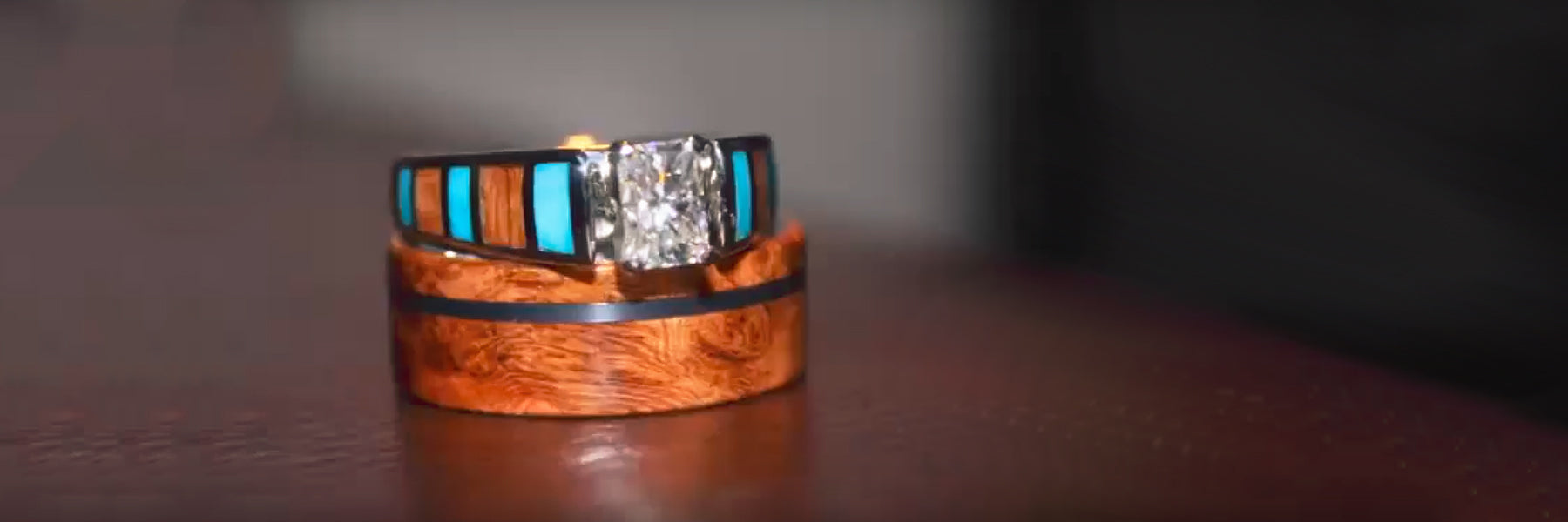 Jewelry by Johan Custom Wedding Ring Set