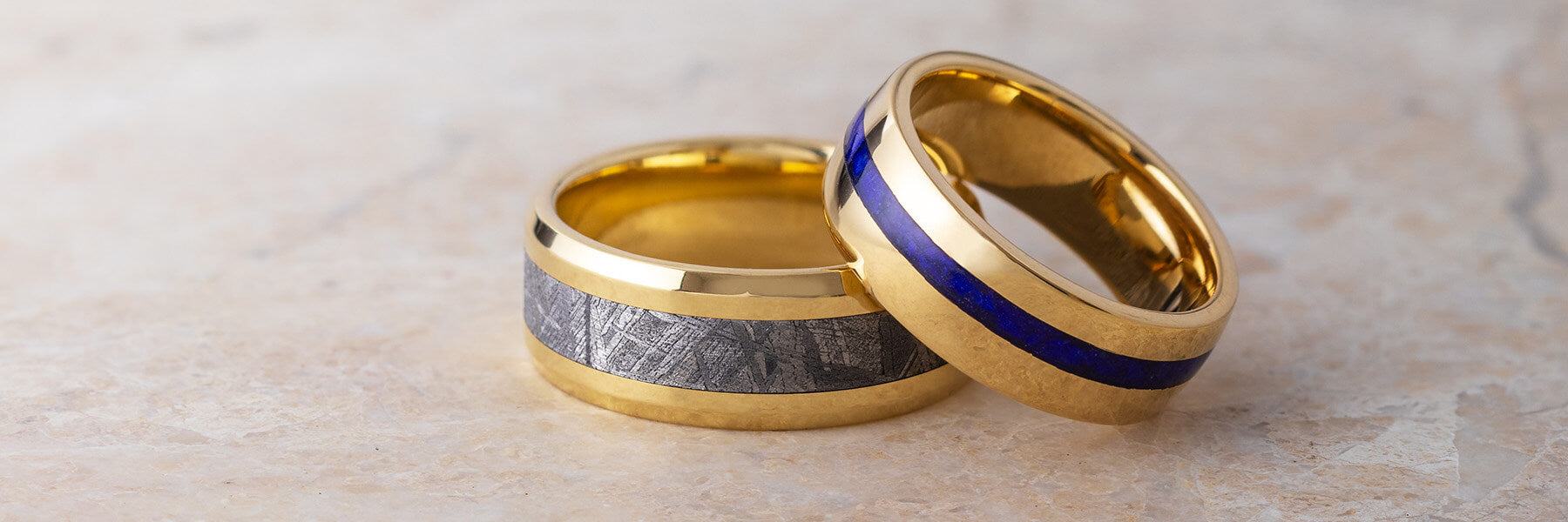 Yellow Wedding Bands