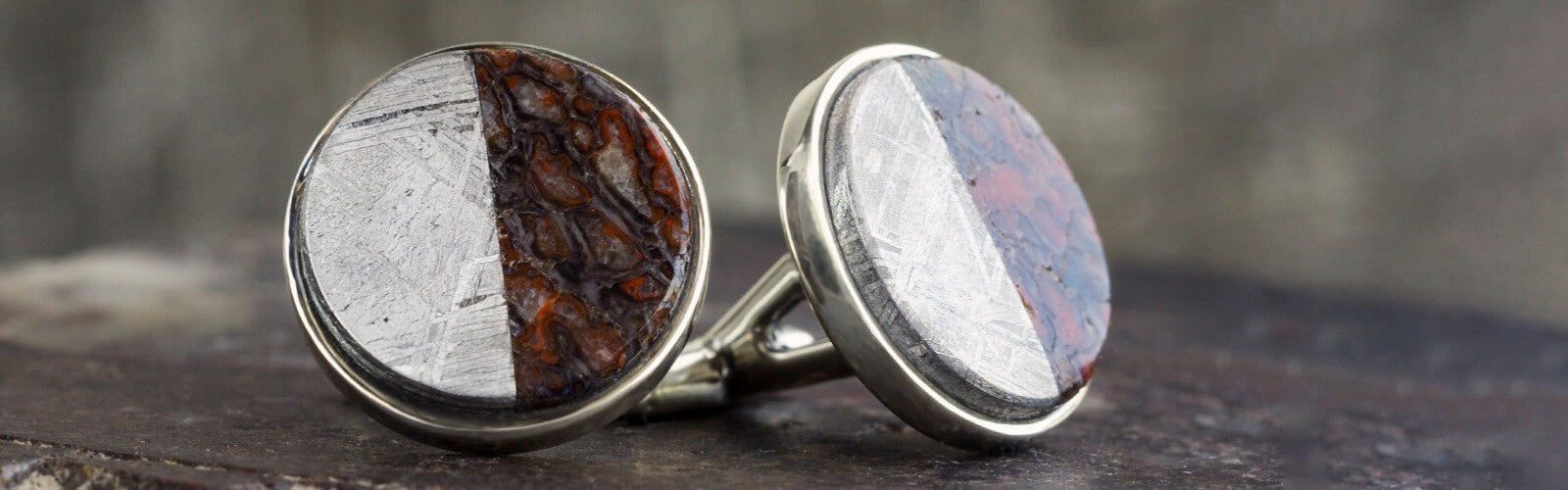 Dinosaur Bone Cuff Links