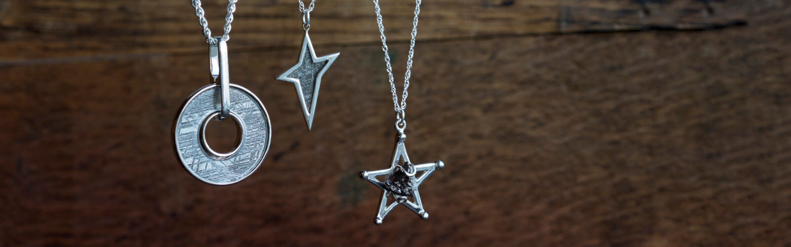 Meteorite Necklaces