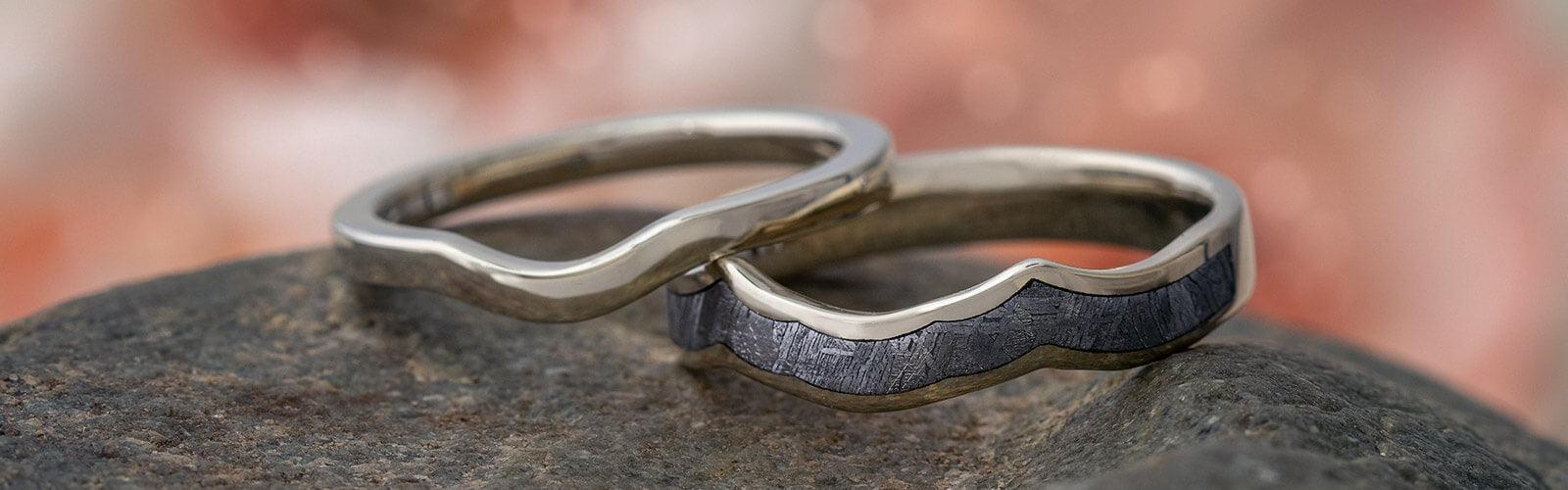 Shadow Wedding Bands