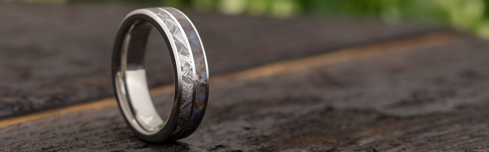 Double-Inlay Wedding Bands