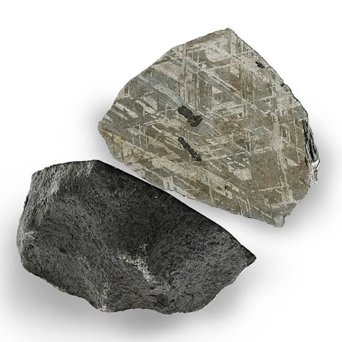 Meteorite With Troilite
