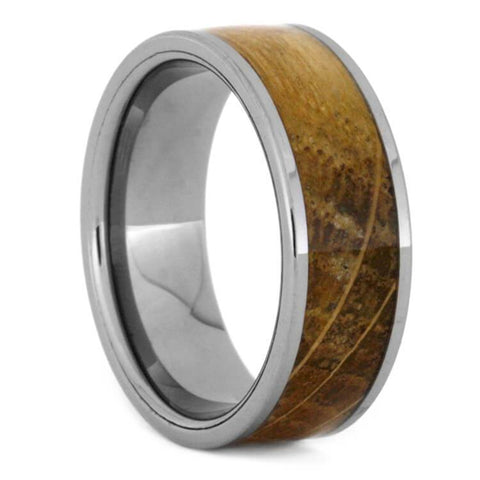 Tungsten Whiskey Barrel Wedding Band