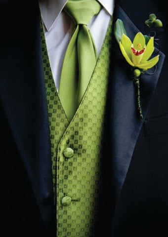 Green Vest for Groom