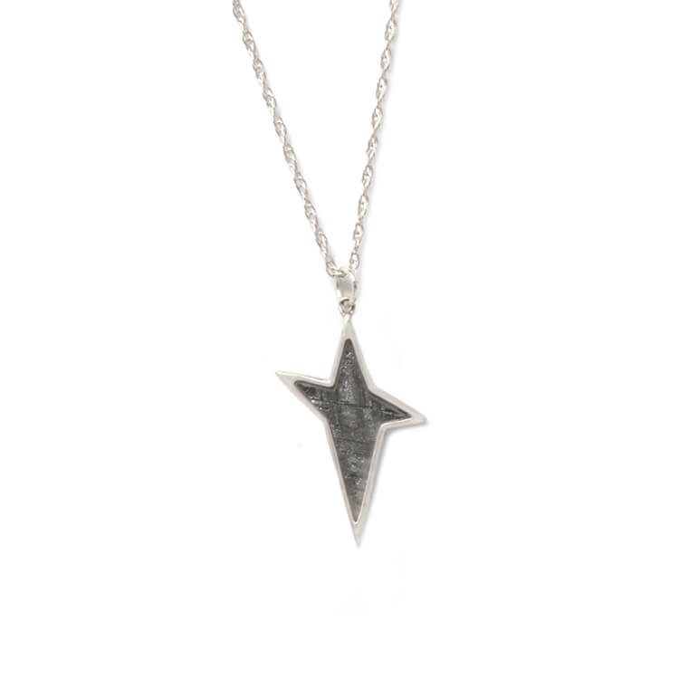 Muonionalusta Meteorite Star Sterling Silver Starborn Necklace
