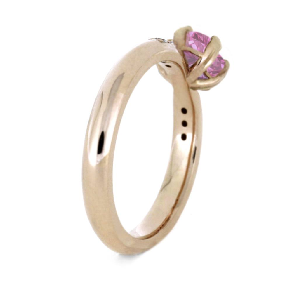 pinterest pin wedding rings heart pink shaped