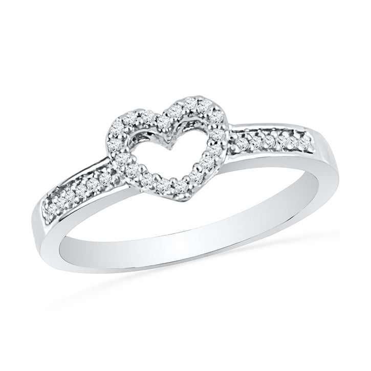 Dazzling Diamond Heart Promise Ring-SHRH072455 - Jewelry by Johan