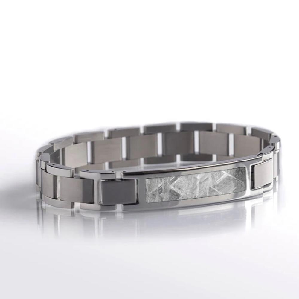 Meteorite Interchangeable Bracelet, In Stock-SIG3050 - Jewelry by Johan