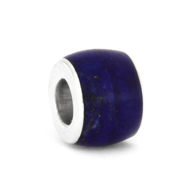 Lapis Lazuli Charm Bead In Sterling Silver-2338 - Jewelry by Johan