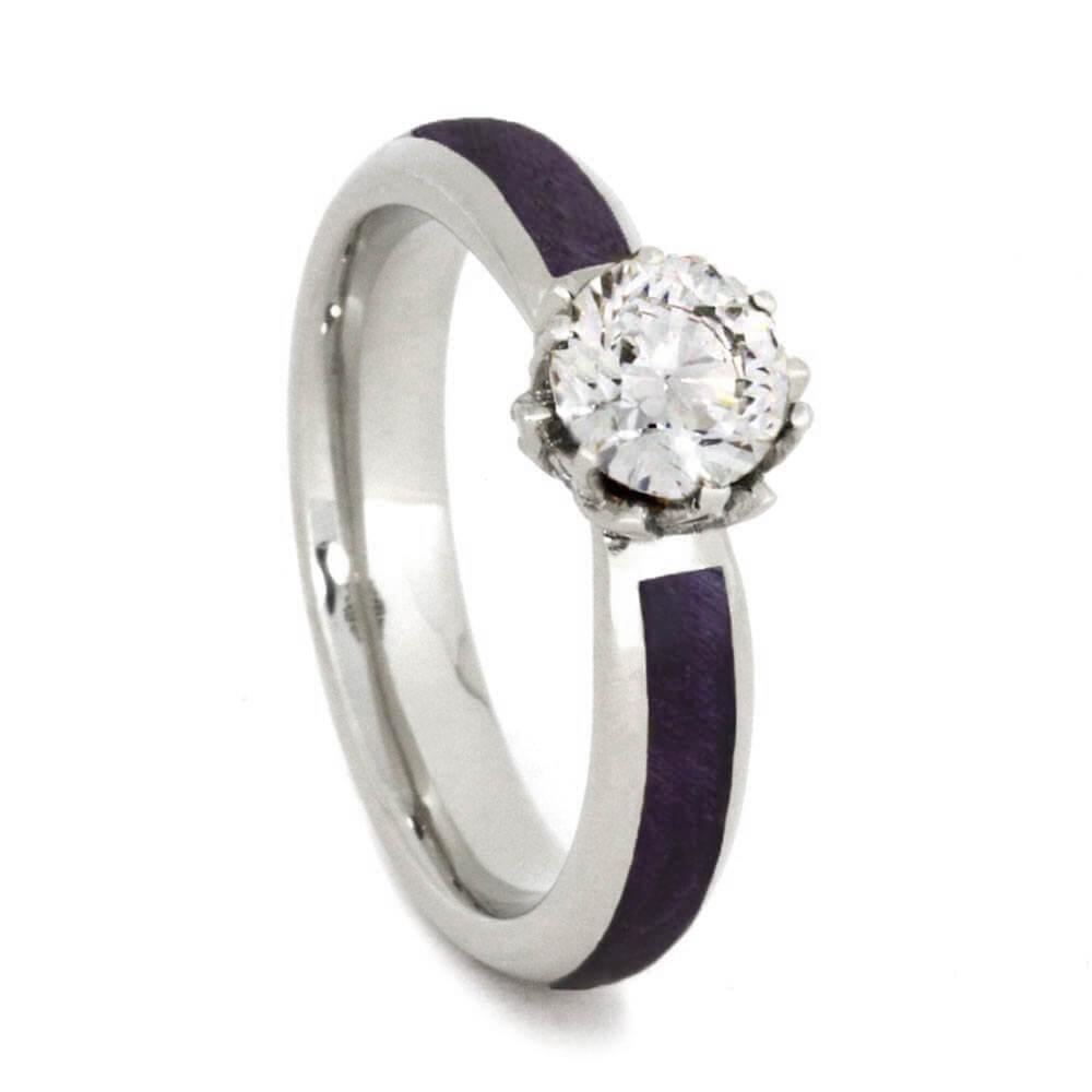 certified tw fancy ct pink shape purple rings gia radiant clarity diamond ring carat engagement