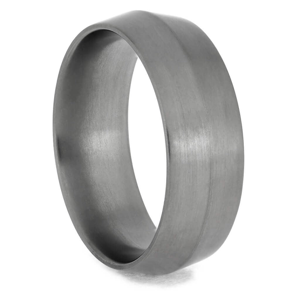 Knife Edge Ring, Titanium Wedding Band-1365 - Jewelry by Johan